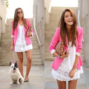 Pink Blazer from Zara