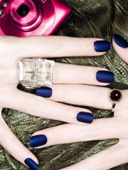 OPI Matte Nail Laquer in Russian Navy