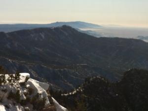 View from Sandia Peaks