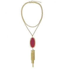 Rayne Necklace in Pink