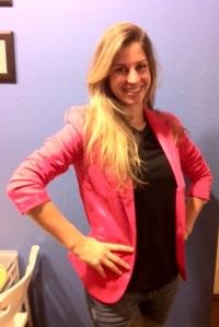 Zara's pink Blazer