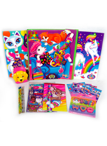 Lisa Frank school supplies