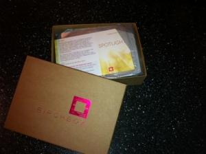 Birchbox packaging