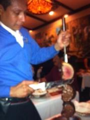 Meat at Estancia Churrascaria