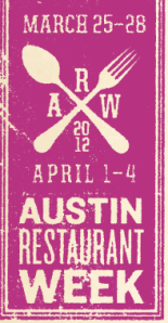 Austin Restaurant Week logo