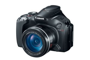 The Canon Powershot SX40 HS