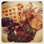 Urban American Grill's Chicken and Waffles