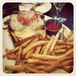 Urban American Grill's meatloaf sandwich
