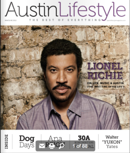 Austin Lifestyle Magazine May/June 2012