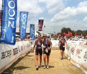 Rachael and Lili Capital of Texas Triathlon