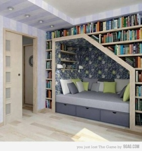 Reading Nook from Pinterest