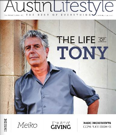 Austin Lifestyle Magazine November/December issue