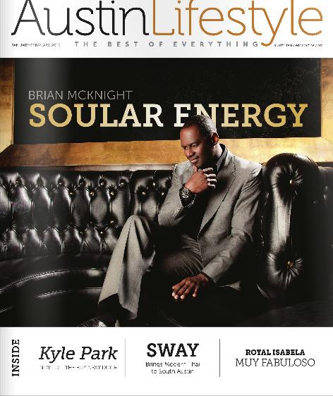 Austin Lifestyle Magazine January February issue