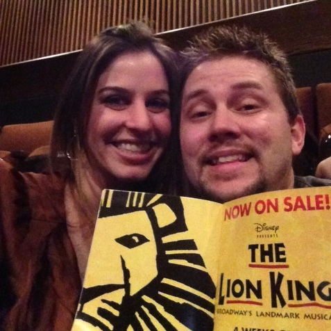 Broadway Across America's The Lion King
