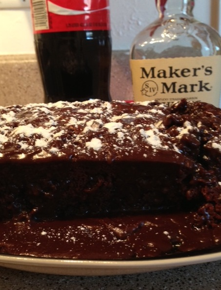 Whiskey and Coke Cake