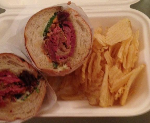 Luke's Inside Out sandwich