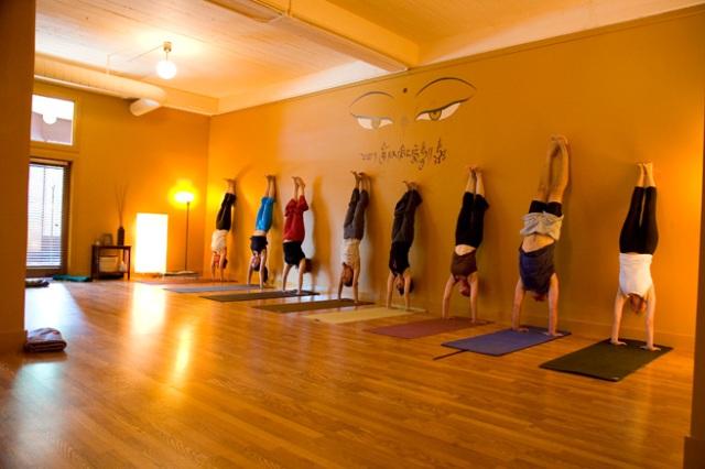 Dharma Yoga Austin studio