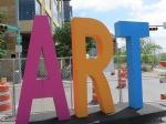 "Art City Austin ""ART"" Sign"