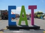 Art City Austin EAT sign