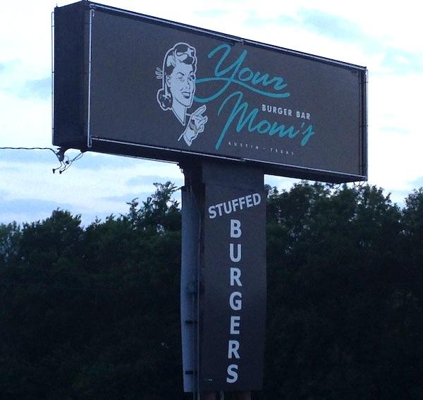 Your Moms Burger Bar Austin