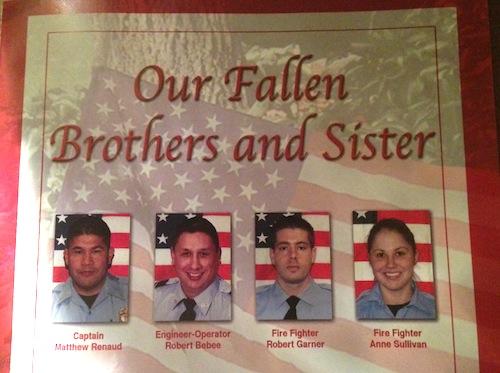 Houston Fire Fighter memorial
