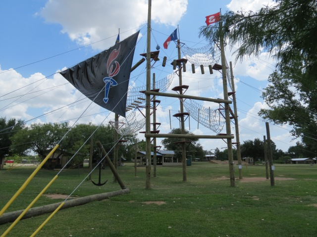 Camp Champions ropes course