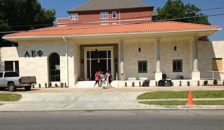 University of Texas AEPhi house