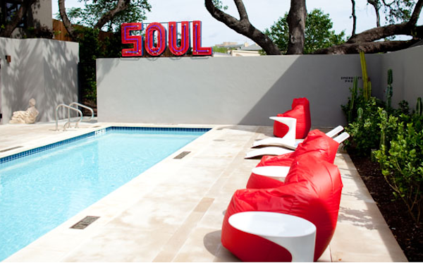 Hotel Saint Cecilia, pool