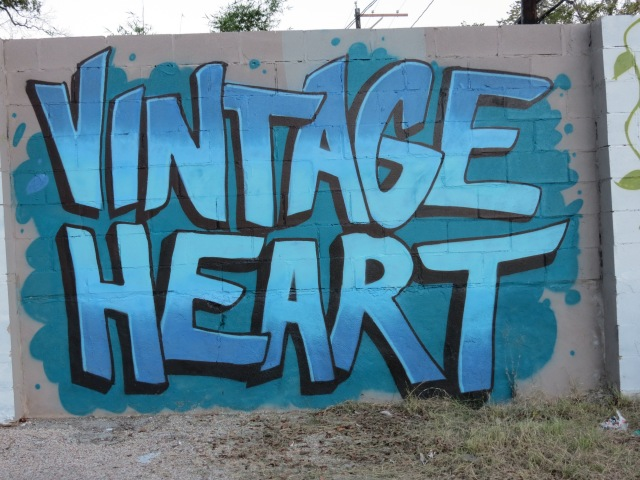 Vintage Heart coffee Austin