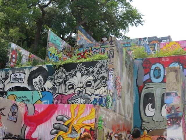 Austin graffiti park