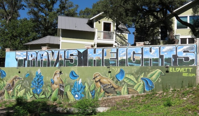 Travis Heights neighborhood Austin